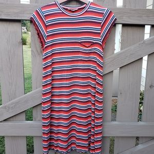 🌼American Eagle Outfitters Size M Stripe Dress